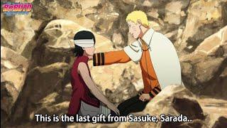 Sarada Felt a Big Power in Sasuke's eyes   The Legacy That Sasuke Left When he Died