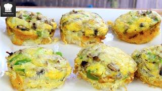 Omelet Potato Cupcakes