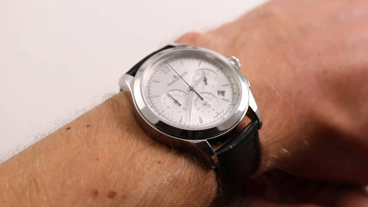 jaeger lecoultre master chronograph luxury watch review youtube