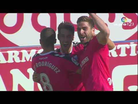 Resumen de Albacete Balompié vs Sevilla Atlético (2-1)