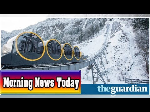 World's steepest funicular rail line to open in switzerland| Morning News