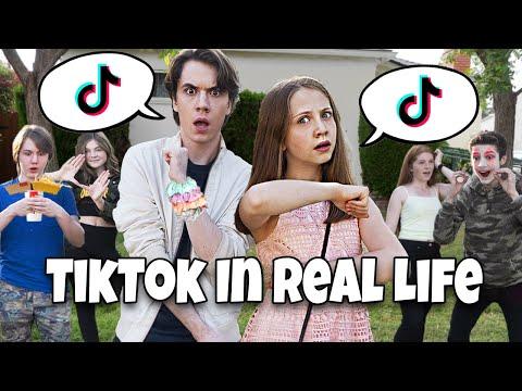 Tik Tok In Real Life! 😱