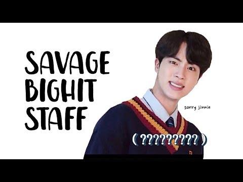 bighit staff dissing jin | 氚╉儎靻岆厔雼� 靹濎 BTS