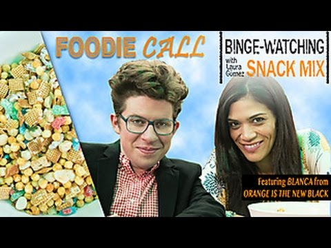 BingeWatching Snack with Laura Gomez of Orange Is the New Black: Foodie Call