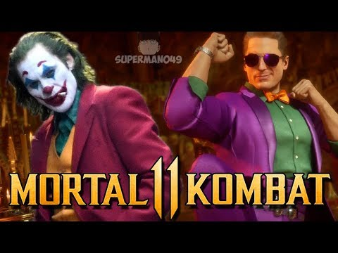 """JOKER CAGE CAUSES QUITALITY WITH A SMILE! - Mortal Kombat 11: """"Johnny Cage Joker"""" Gameplay  """