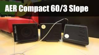 【音樂魔法屋】AER Alpha Plus, Compact 60/3, Compact 60/3 Slope Comparison