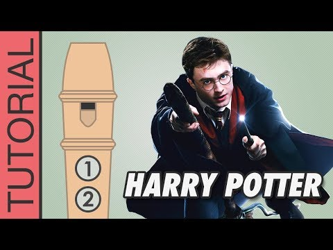 Harry Potter (Hedwig's Theme) - Recorder Notes Tutorial
