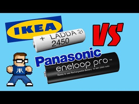 Are IKEA LADDA Batteries Really Eneloop Pro?