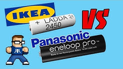 Are IKEA LADDA Batteries Really Eneloop Pro?