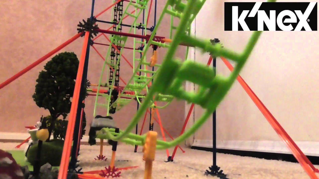 Amazin 8 Rollercoaster Knex Youtube
