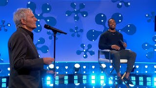 Michael Bolton's Song for Rashad Jennings - The Celebrity Dating Game