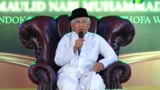KH. Mustofa Bisri - Peringatan Maulid Nabi di Ponpes Ahlus-Shofa Wal-Wafa Sidoarjo | Aswaja Tube