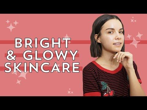 Bright + Glowy Skin on a No Makeup Day | Ingrid Nilsen