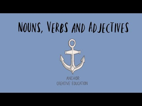 The Nouns, Verbs and Adjectives Song