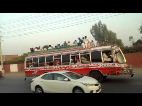 Lahore to Fsd. the Road Journey