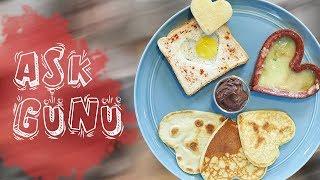 Sevgiler Günü Aşk Kahvaltısı