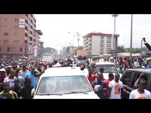 Guinée : des dizaines de milliers de manifestants à l'appel de l'opposition