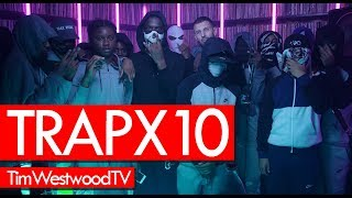 Trapx10 Crib Session freestyle - Westwood