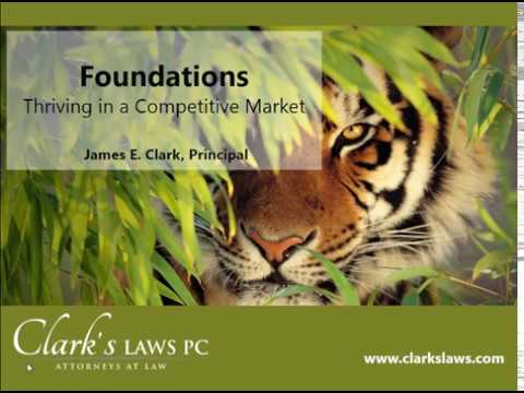 Thriving in a Competitive Market: Foundations Part 1