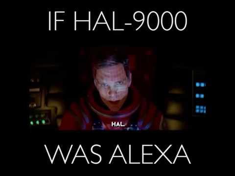 If HAL9000 was Amazon.com's Alexa