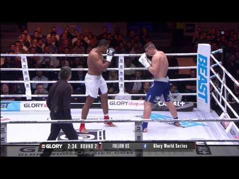GLORY 22: Rico Verhoeven vs Benjamin Adegbuyi (Full Video)