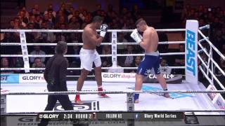 GLORY 22: Rico Verhoeven vs Benjamin Adegbuyi (Full Video)