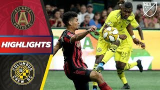 Atlanta United FC vs. Columbus Crew SC | Is Josef Martinez's Goal Record Over? | HIGHLIGHTS
