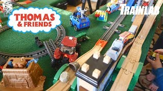 Thomas and Friends   Giant Train Table with Fun Toy Trains for kids!