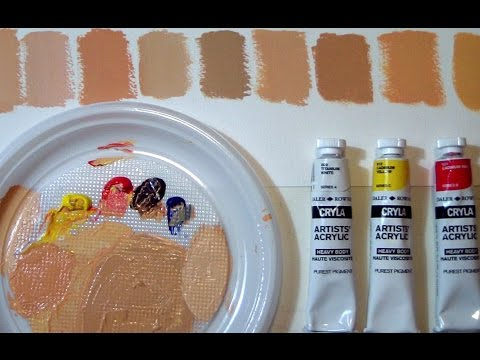 FIFTY SHADES OF...SKIN - How to mix flesh tones by ART Tv
