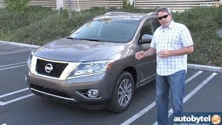 2014 Nissan Pathfinder 7-Passenger SUV Test Drive Video Review