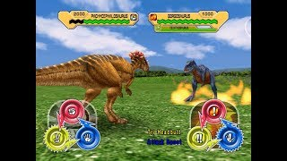 Dinosaur King Arcade Game 恐竜キング - Pachycephalosaurus VS the Alpha Fortress [Easy]