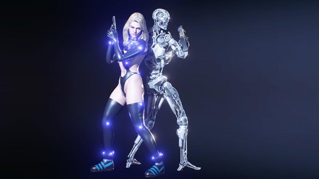 Resident Evil 3 Mod Gameplay Jill Valentine Gantz O Reika Version 2 4K 2160p (Jill Reika) & T-800