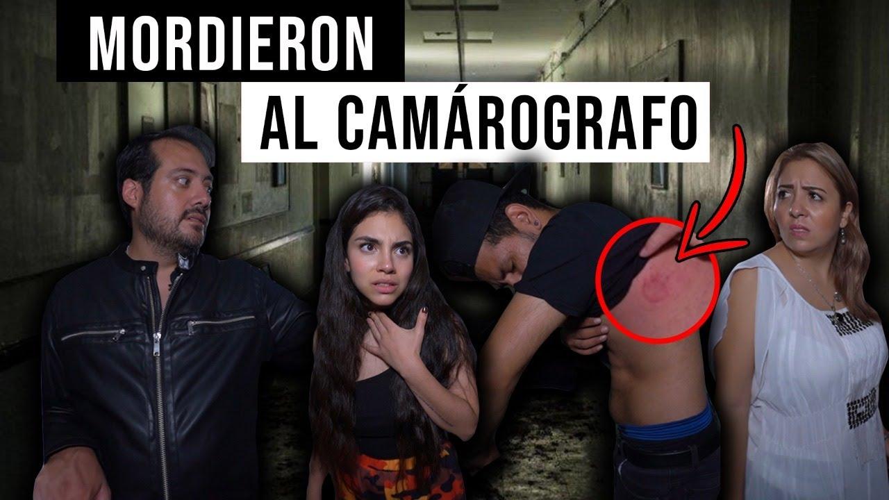 ¡Camarógrafo mordido por entidad en hospital abandonado!
