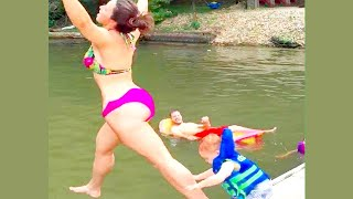 Try Not To Laugh 🔥 Funny Girl In Summer Fails Compilation 😂😂😂