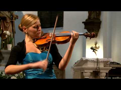 J .S.  Bach Sonata No 2  BWV 1003 - Tanja Sonc, violin