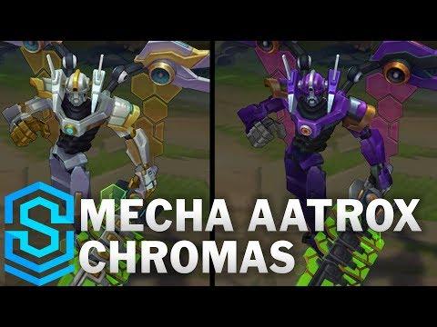 Mecha Aatrox Chroma Skins