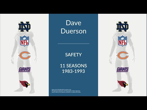 Dave Duerson: Football Safety