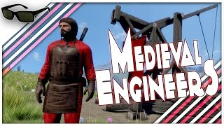 Medieval Engineers | Trebuchet Of Possible Death | Funny Gameplay Moments