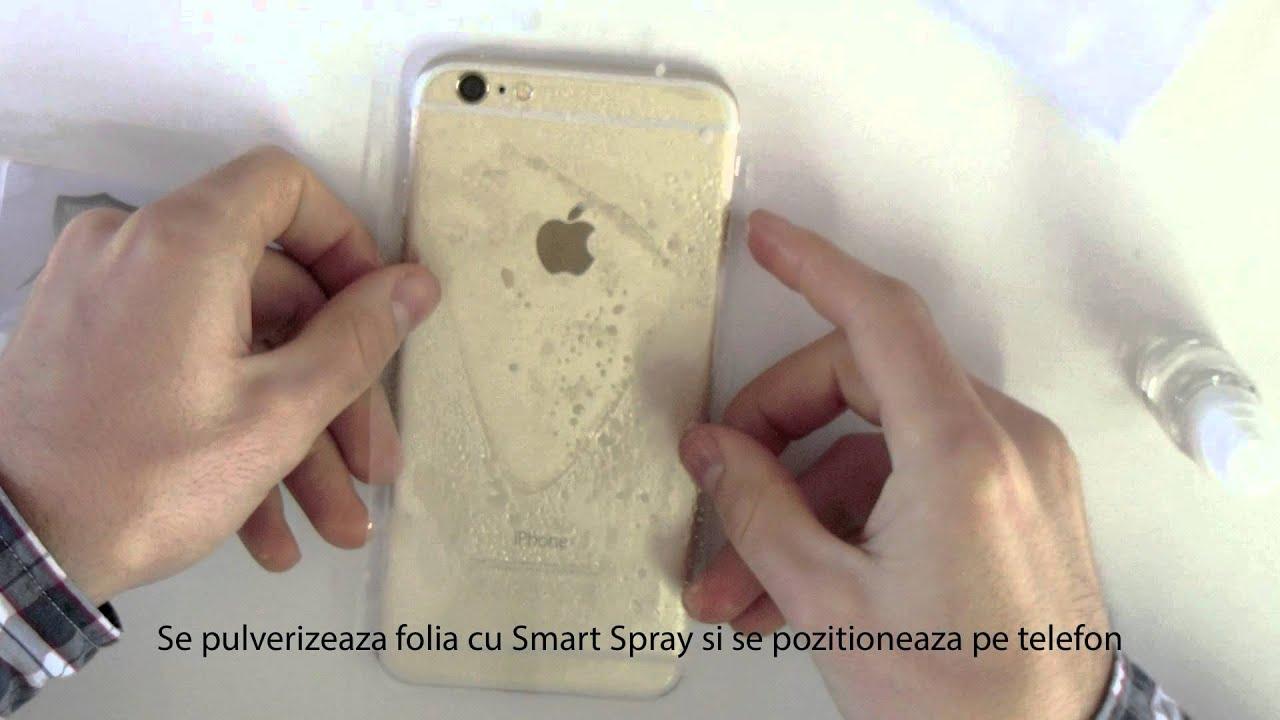 Tutorial de instalare folie de protectie Smart Protection iPhone 6+
