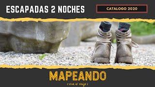 ESCAPADAS DOS NOCHES CATÁLOGO