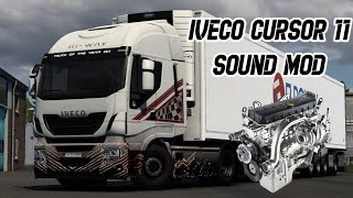 [ETS2 v1.40] Iveco Cursor 11 Sound Mod