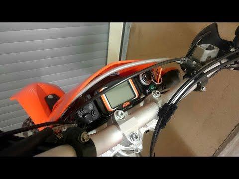 Umbau KTM 400 EXC auf SMC Cockpitиз YouTube · Длительность: 15 мин18 с