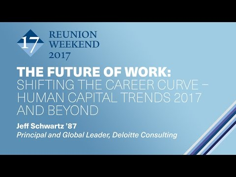 The Future of Work: Shifting the Career Curve – Human Capital Trends 2017 and Beyond