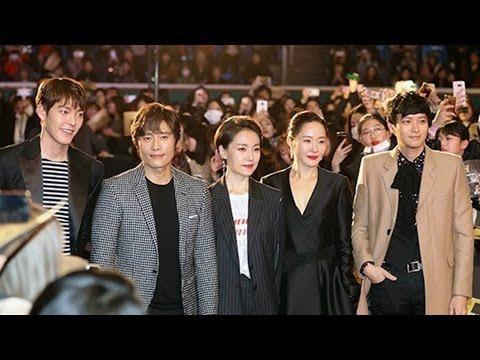 이병헌·강동원·김우빈 '마스터' 레드카펫 (LEE BYUNG HUN, KIM WOO BIN, Kang Dong won, Master) [통통영상]