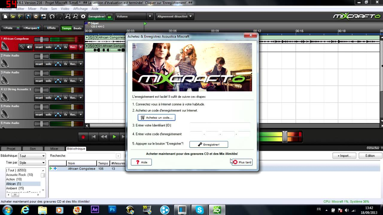 mixcraft 7 free registration code Archives