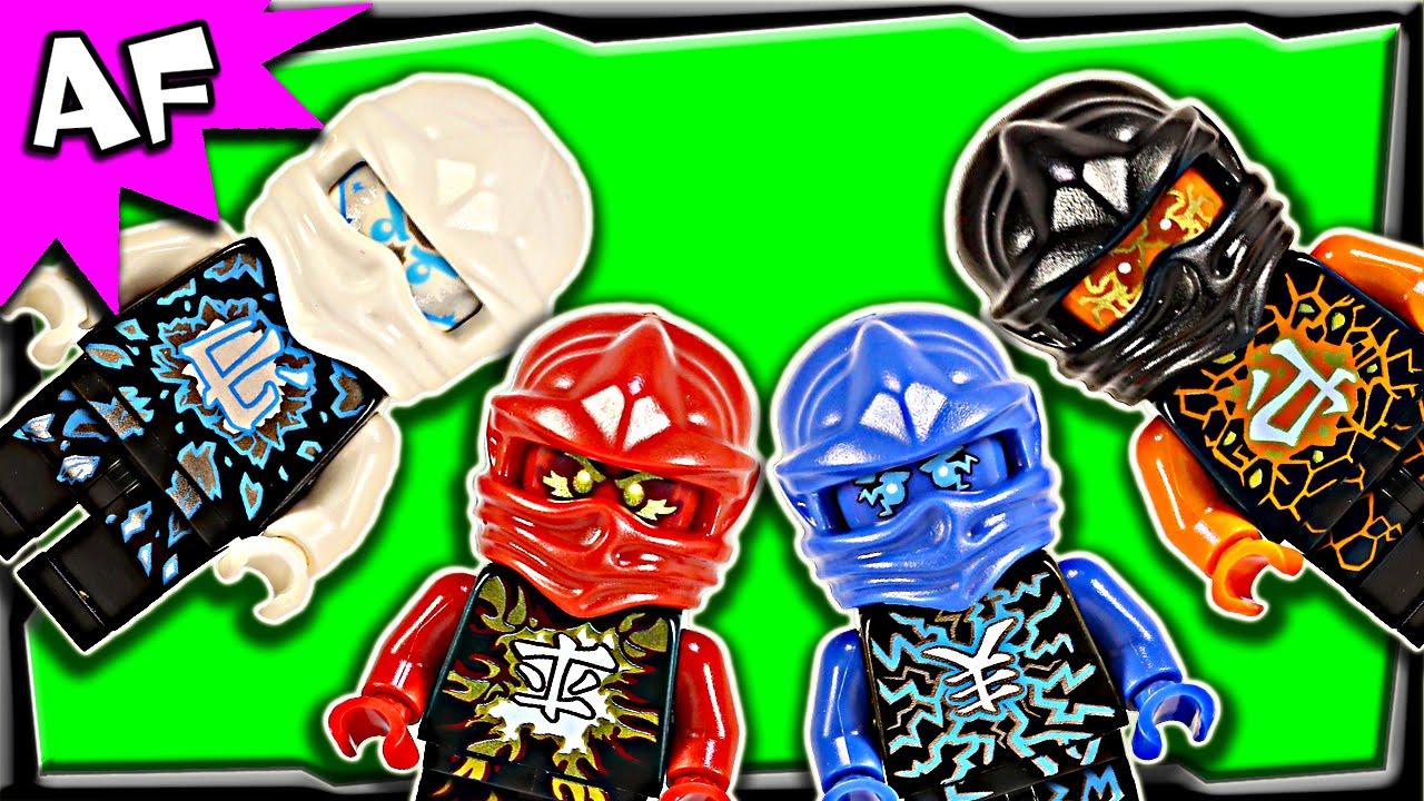 Lego Ninjago Airjitzu Minifigures 2015 Complete Collection