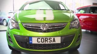 Central Vauxhall Corsa Test Drive HD