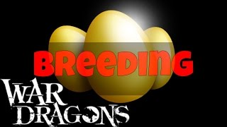 War Dragons - Breeding event Gameplay
