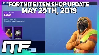 Fortnite Item Shop 'NEW' DOGGO SKIN SET! [25 mai 2019] (Fortnite Battle Royale)
