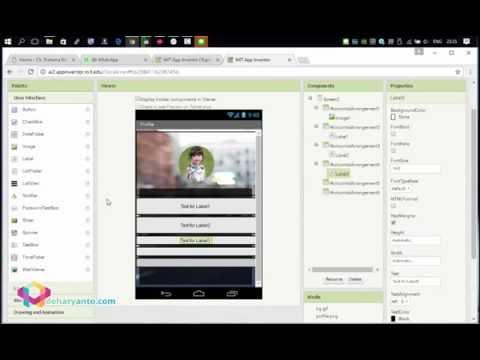 Membuat Aplikasi Android Menggunakan App Inventor 2 Kurang dari 20 Menit